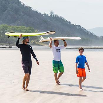 Custom Surf Camps