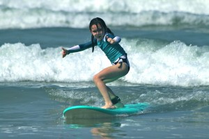 Family surf camp in Costa Rica makes it easy for kids to learn to surf.