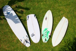 Experimenting with different boards does help to make you a better surfer.