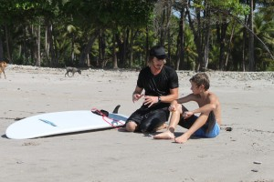 surf coaching kids