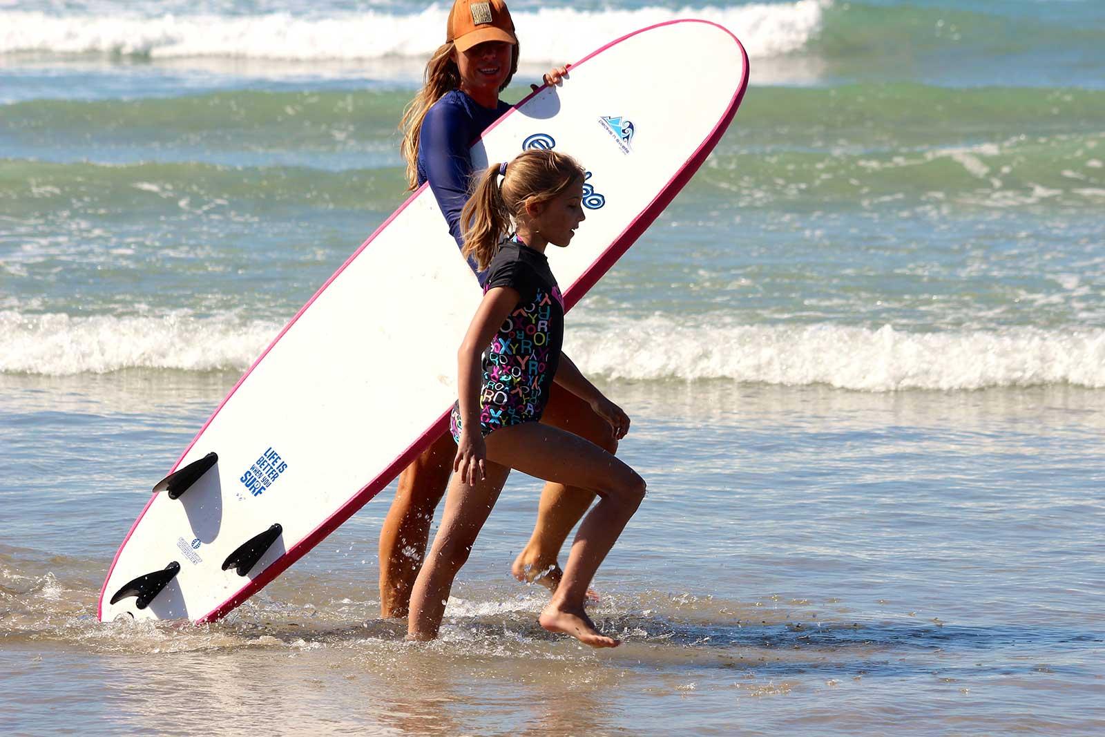 Peaks n' Swells Surf Camp Life