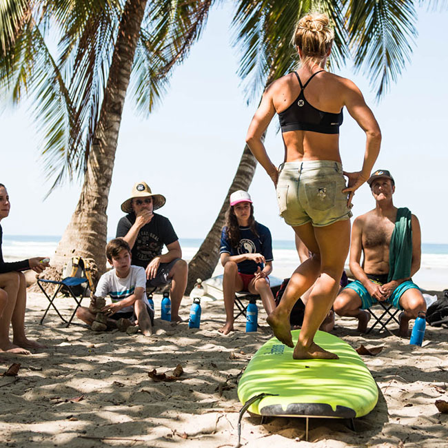 Custom Surf Camps in Costa Rica